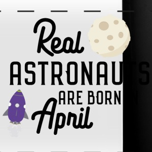 Astronauten sind im April geboren. Sv34m-Design Mugs & Drinkware - Full Color Panoramic Mug