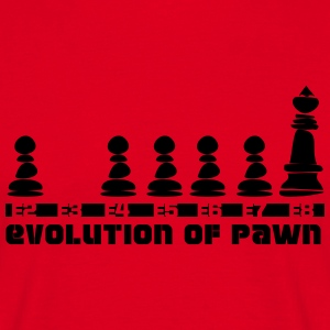 Evolution of Pawn - Männer T-Shirt