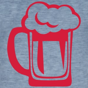 Beer glass alcohol 2122 T-Shirts - Men's Vintage T-Shirt
