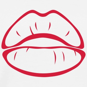 Mouth lip 112 T-Shirts - Men's Premium T-Shirt