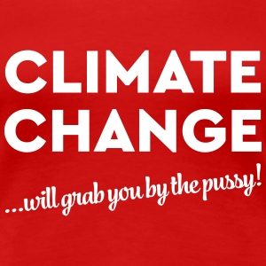 Climate change will grab you by the pussy! T-Shirts - Frauen Premium T-Shirt