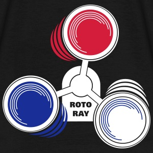 Roto Ray warning lights 3-colored T-Shirts - Männer T-Shirt