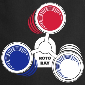 Roto Ray warning lights 3-colored Schürzen - Kochschürze