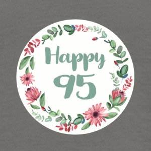 happy_95_flower_1 T-Shirts - Männer T-Shirt