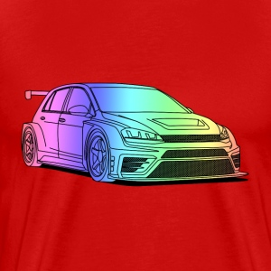 golf colourful T-shirts - Premium-T-shirt herr