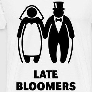 Late Bloomers (Mature Couple / Wedding) T-Shirts - Men's Premium T-Shirt