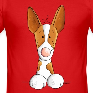 Funny Podenco Canario T-Shirts - Men's Slim Fit T-Shirt