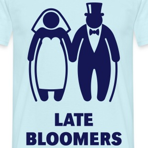 Late Bloomers (Mature Couple / Wedding) T-Shirts - Men's T-Shirt