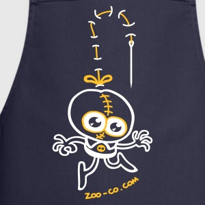 Navy Stitched Man  Aprons - Cooking Apron