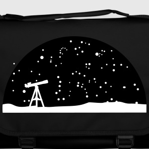 Astronomie, Telescope and stars Bags & Backpacks - Shoulder Bag