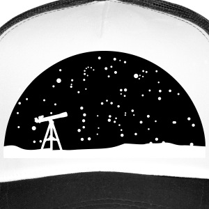 Astronomie, Telescope and stars Caps & Hats - Trucker Cap