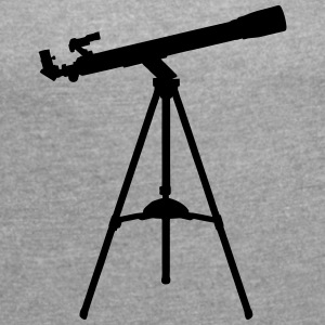Telescope T-Shirts - Women's T-shirt with rolled up sleeves