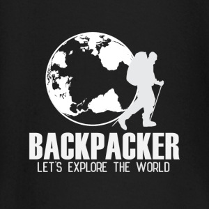 Travel Backpacker baby shirts met lange mouwen - T-shirt