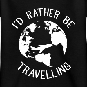 Travel Backpacker T-Shirts - Kinder T-Shirt