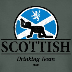 SCOTTISH DRINKING TEAM T-Shirts - Men's Organic T-shirt