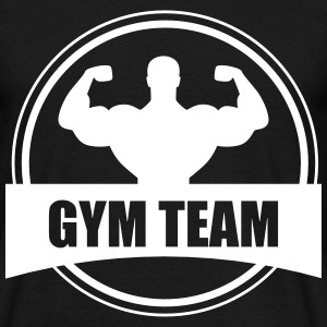 GYM TEAM | Fitness | Body Building  T-Shirts - Men's T-Shirt