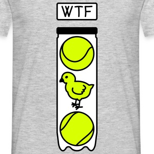 tennis wtf humour - T-shirt Homme
