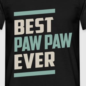 Best Paw Paw Ever T-shirt - Men's T-Shirt