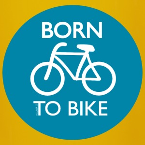 Tasse: Born to Bike - Tasse einfarbig