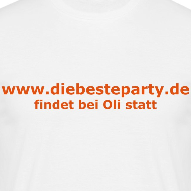 Die beste Party (vorne)
