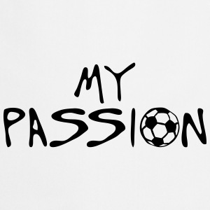 soccer football my passion citation spor Tabliers - Tablier de cuisine