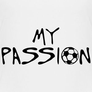 soccer football my passion citation spor Tee shirts - T-shirt Premium Enfant