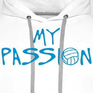 volleyball waterpolo my passion Zitat Pullover & Hoodies - Männer Premium Hoodie