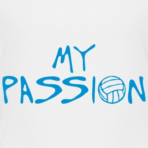 volleyball waterpolo my passion Zitat T-Shirts - Kinder Premium T-Shirt