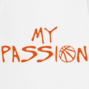 basketball my passion quote sport  Aprons - Cooking Apron