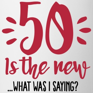 50 is the new ...What was I saying? Mokken & toebehoor - Mok