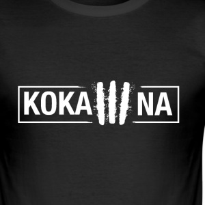 Kokaina - Männer Slim Fit T-Shirt
