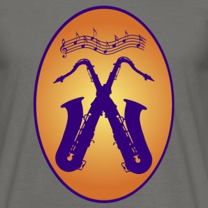 saxophones / Music / Jazz T-Shirts - Men's T-Shirt