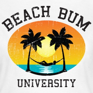 Beach Bum University | Palm - Sunset - Hammock T-Shirts - Frauen T-Shirt