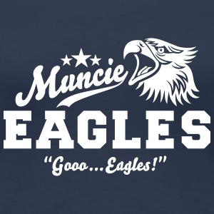 Muncie Eagles - Frauen Premium T-Shirt
