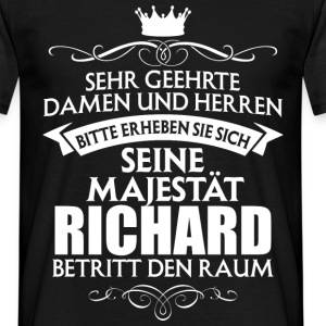 Richard - Majestät - Männer T-Shirt
