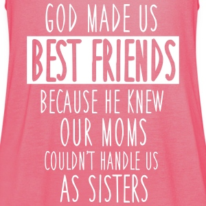 God made us best friends Tops - Vrouwen tank top van Bella