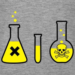 Science, Chemistr, - Danger! (2colors) Tops - Camiseta de tirantes premium mujer
