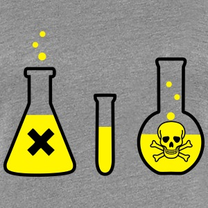 Science, Chemistr - Danger! (2colors) T-shirts - Dame premium T-shirt