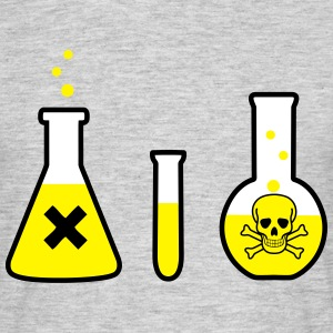Science, Chemistry - Danger! (3 colors) Koszulki - Koszulka męska