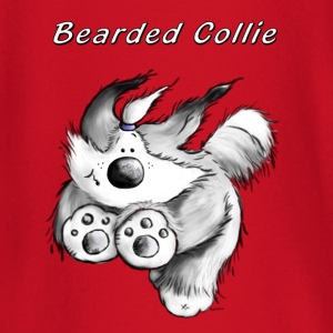 Corriendo Collie barbudo Camisetas de manga larga bebé - Camiseta manga larga bebé