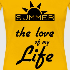 Summer Lover - Frauen Premium T-Shirt