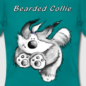 Running Bearded Collie T-Shirts - Women's T-Shirt