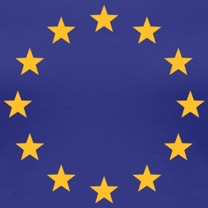 EU, Stars, Europe, flag, European Union, Symbol T-Shirts - Women's Premium T-Shirt