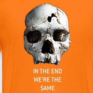 In the end II - Herre premium T-shirt