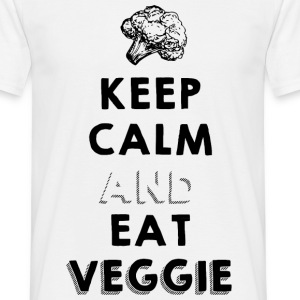 keep calm and eat veggie Tee shirts - T-shirt Homme