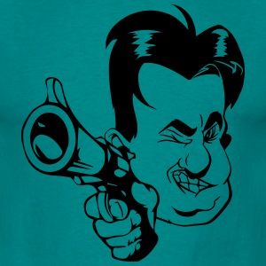 Headhands weapon revolver T-Shirts - Men's T-Shirt