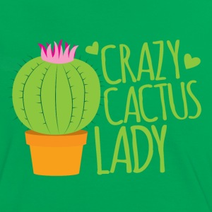 crazy cactus lady T-Shirts - Women's Ringer T-Shirt