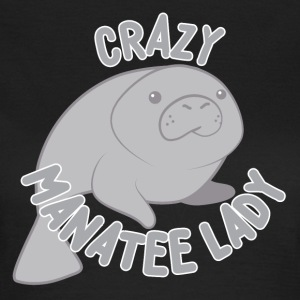 crazy manatee lady T-Shirts - Women's T-Shirt