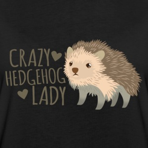 crazy hedgehog lady T-Shirts - Women's Oversize T-Shirt