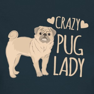 crazy pug lady T-Shirts - Women's T-Shirt